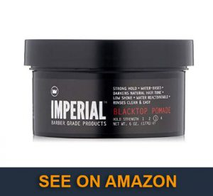 Imperial Barber Grade Products Blacktop Pomade
