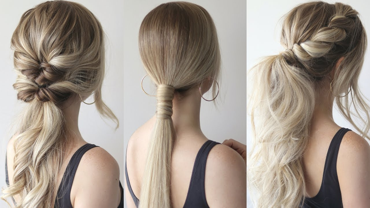 The Ponytail Hair Trend